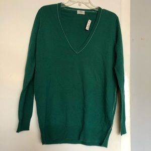 Madewell Wallace Sweater Womens Small cashmere